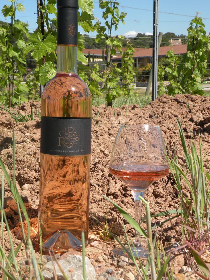 Clos des Roses Rosé AOC Côtes de Provence 2013  Médaille de Bronze Paris 2014  Vif et expressif, il saura vous séduire dès l'apéritif, et s'adaptera facilement sur divers plats de poissons et viandes #closdesroses
