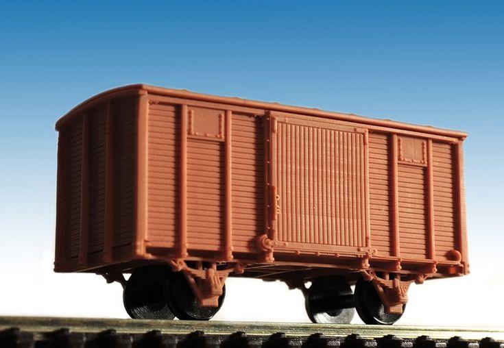 Нормальный товарный вагон в разработке. - стр. 1 - Модели своими руками - NSCALECLUB.RU