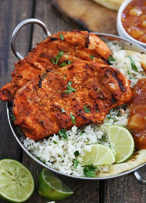 Low FODMAP & Gluten free Recipe - Tandoori chicken