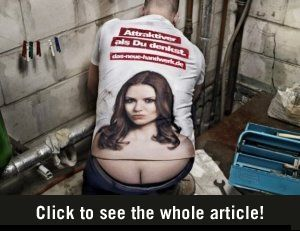 Plenty of guys need these shirts!