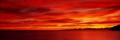 Sunrise, Water, Mulege, Baja, California, Mexico, United States Photographic Print by Panoramic Images at Art.com