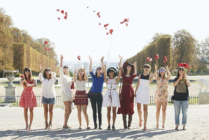 Kenzo - Flower in the Air #Kenzo #FlowerintheAir #Ykone #2013 #MarieLuvPink #shoot #red #perfume #poppy