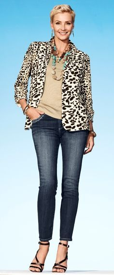 leopard print for women over 50 - Google Search