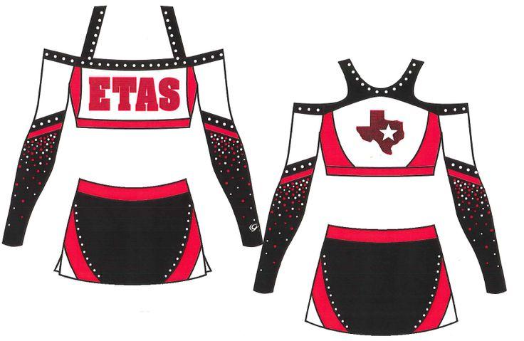 East Texas All Stars Sport Custom GK Cheer Uniform
