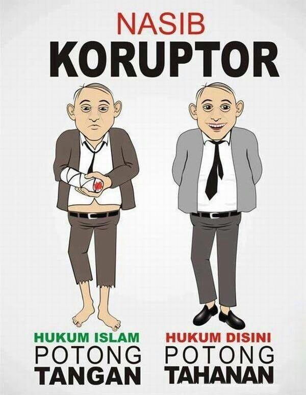 Nasib koruptor di Indonesia - #Meme - http://wp.me/p3MK7L-bxZ