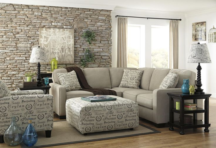 Signature Design by Ashley Alenya - Quartz 2-Piece Sectional with Left Loveseat - Furniture Mart Colorado - Sofa Sectional Denver, Northern Colorado, Fort Morgan, Sterling, CO