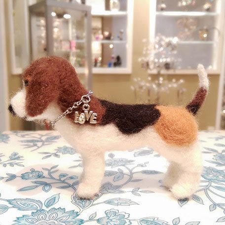 Hey, I found this really awesome Etsy listing at https://www.etsy.com/listing/209269624/needle-felted-beagle-puppy-miniature