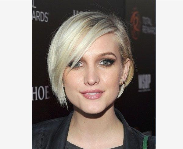 Ashlee Simpson Blonde Hair
