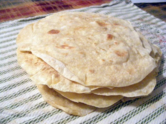 Healthy homemade flour tortillas without using lard!   Find the recipe here;   http://wp.me/p1MZv0-hf