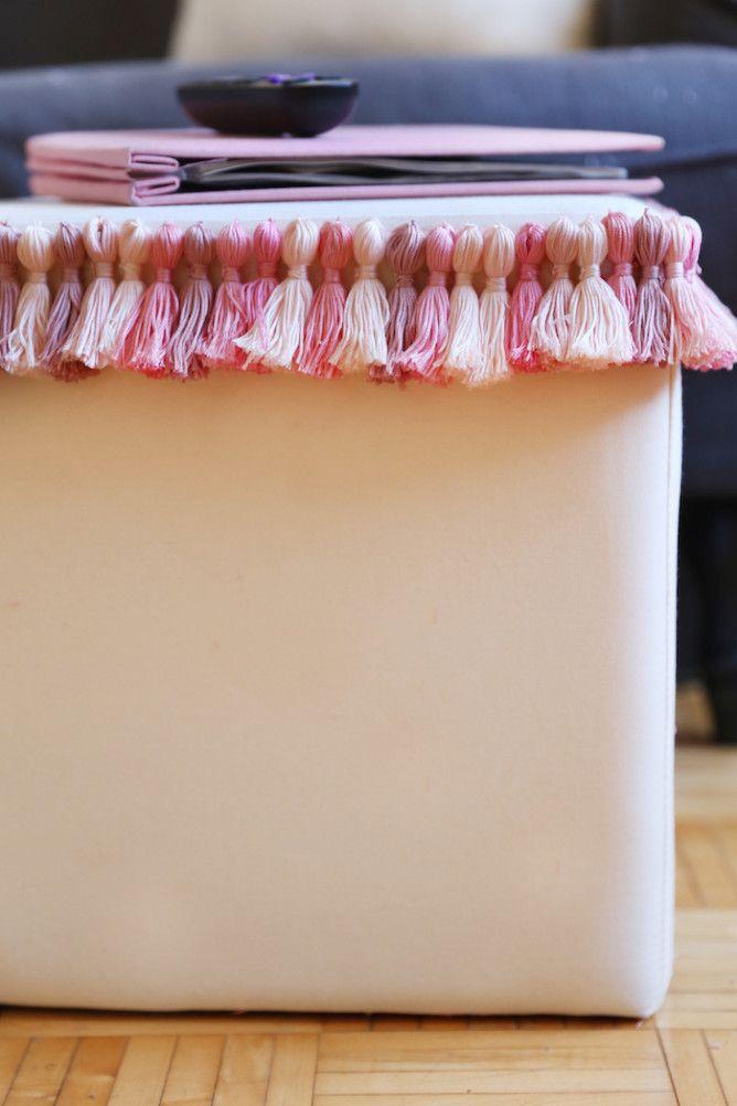 3 Tassels DIYs to Add Color & Warmth!