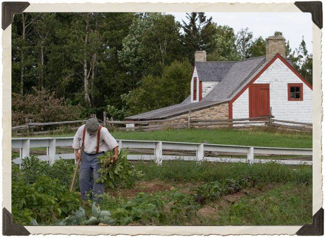 Village Historique Acadien | History