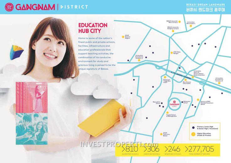 Gangnam District Bekasi Location / Map. #gangnambekasi