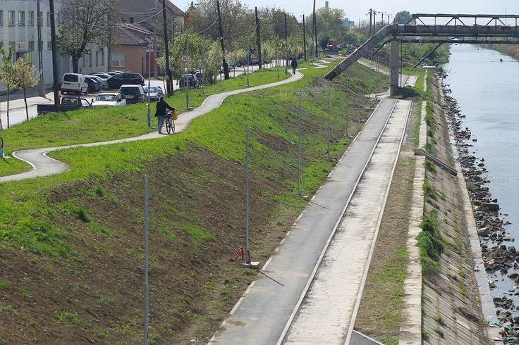 Lucrari ample pe malurile canalului Bega. S-a obtinut o noua finantare, de 4 milioane de euro