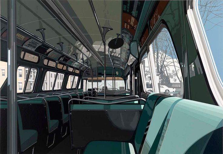1stdibs   Richard Estes - Urban Landscapes III