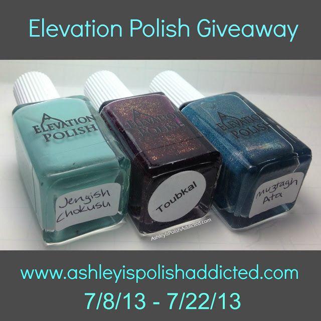 http://www.ashleyispolishaddicted.com/2013/07/elevation-polish-giveaway.html