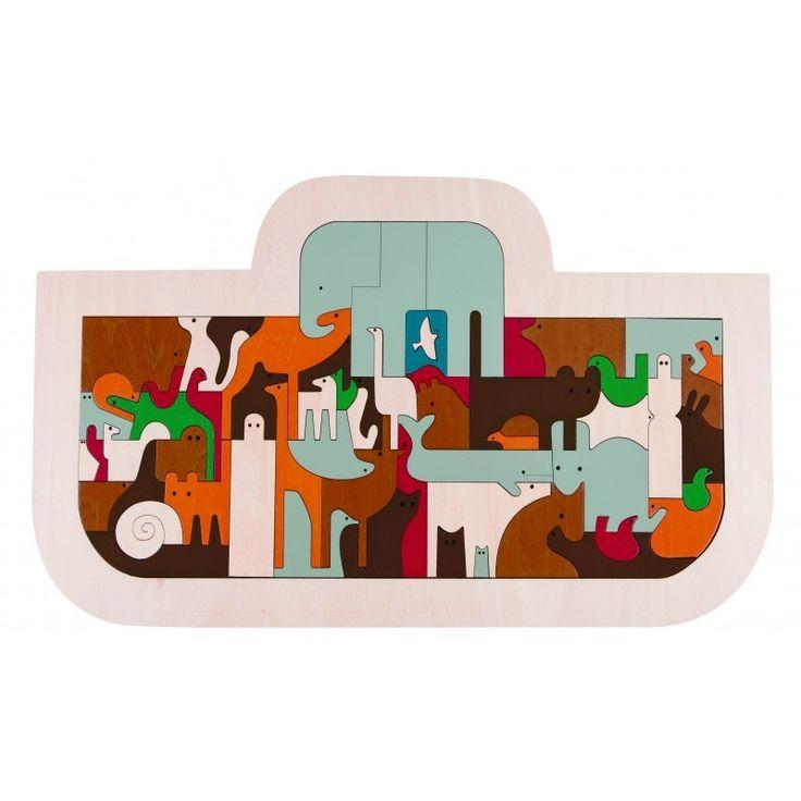 Cadeau communion idéal. Puzzle Arche de Noé - Hape - Catho Rétro. A retrouver chez Catho Rétro, le concept store chrétien www.cathoretro.com