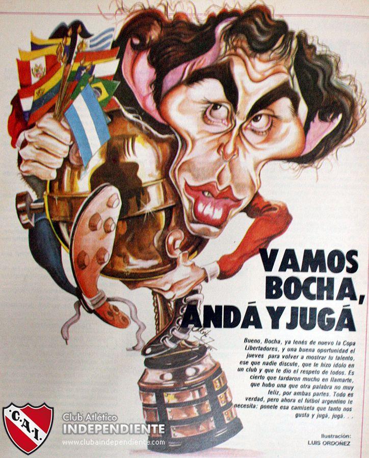 1984 Ricardo Bochini - Campeon Copa Libertadores de America