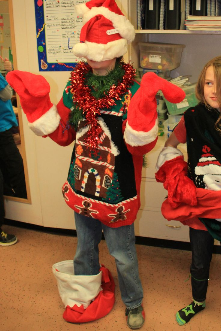5th Grade Christmas Party Ideas Part - 34: Need A Game For Your Class Holiday Party? This Practically Perfect Ugly  Sweater Game Was