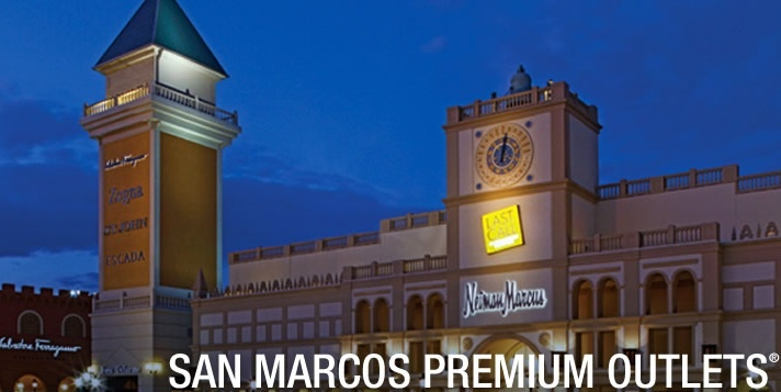 Spend the day at the San Marcos outlets!