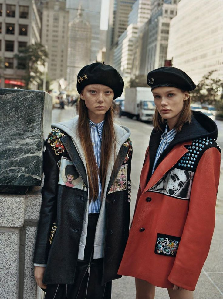 Josh Olins Captures Savvy Street Looks In 'Radical Chic' For Vogue UK February 2018