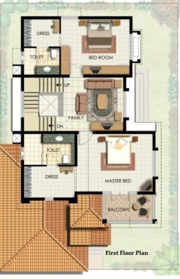 Bungalow House Plans | Bungalow Map Design | Floor Plan India