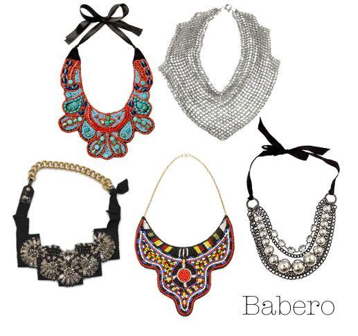 19 best molde collares babero images on Pinterest  Bib necklaces