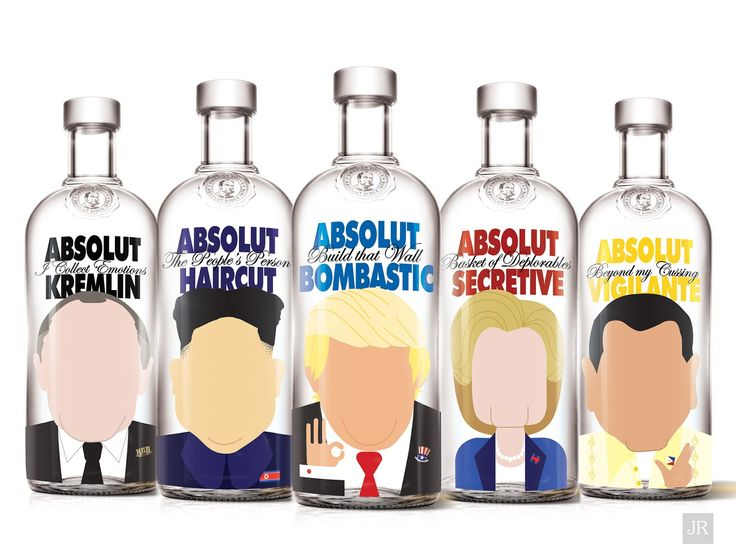 Faceless Politics (Concept) on Packaging of the World - Creative Package Design Gallery