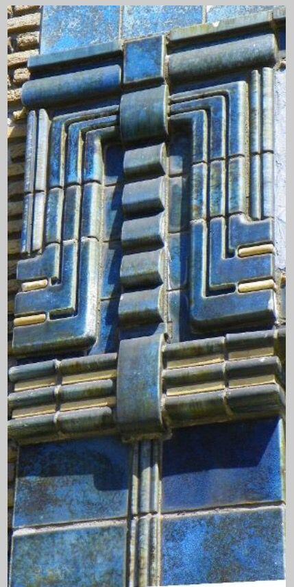Detail gevel de Gruyter Breda