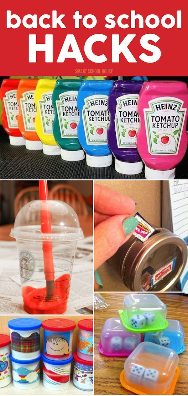 Easy, fun, creative, money saving, and cute Back to School Hacks to help everyone get back into the swing of school! All of these ideas can be used at school or adapted at home.
