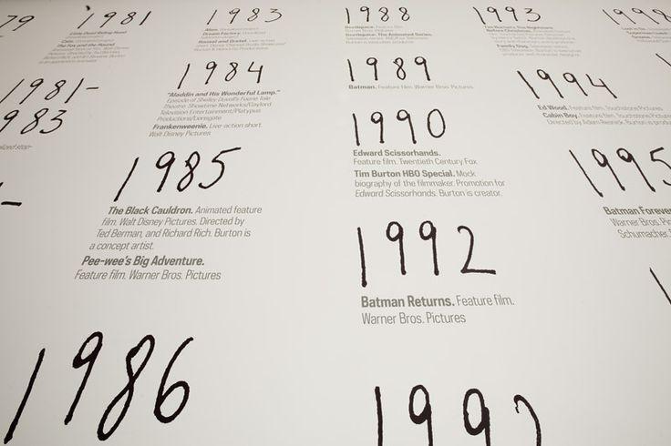 Tim Burton  MOMA
