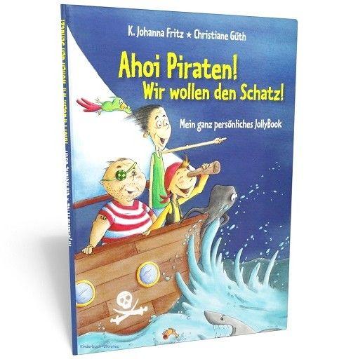 """personalisiertes Piratenbuch für Seeräuber - Ahoi Piraten! – """"Ahoi Piraten!"""" ist ein Piratenbuch für echte Seeräuber. Mit diesem aufregenden Abenteuer werden Piratenträume wahr – personalisiertes Kinderbuch für Kinder #Kinderbücher #ab4Jahre #Abenteuerbuch #personalisiertesKinderbuch #Pirat #PiratenBuch"""