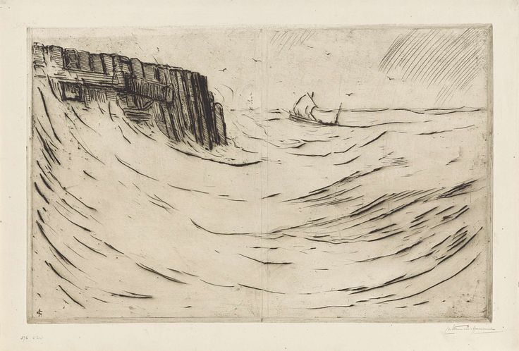 Havenhoofd te Vlissingen, Carel Nicolaas Storm van 's-Gravesande, 1901