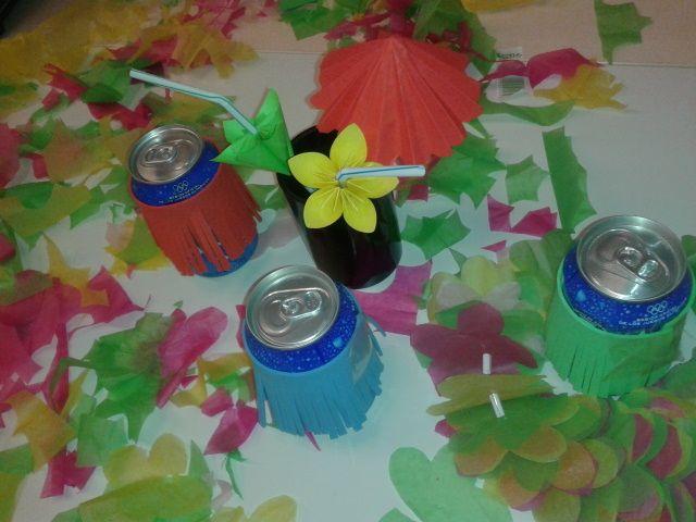 Fiesta Hawaiana en el CUBO ¡Crea tu mismo la decoración de forma sencilla!