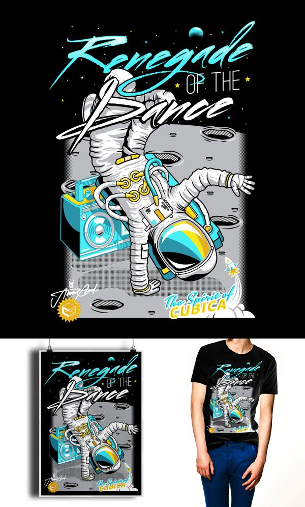 Renegade of the Dance by 24B, via Behance