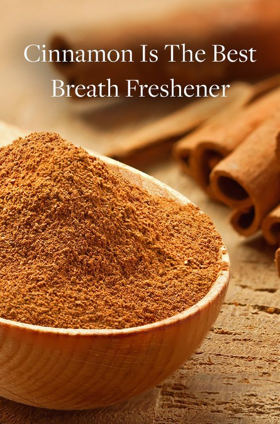 Forget Mints: Cinnamon Is the Real Deal for Breath Freshening via @PureWow
