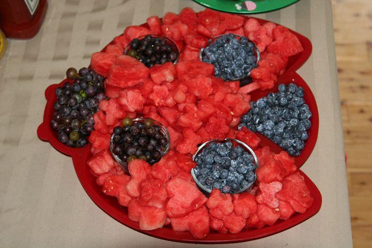 Ladybug Fruit Birthday Ideas Geburtstagskuchen