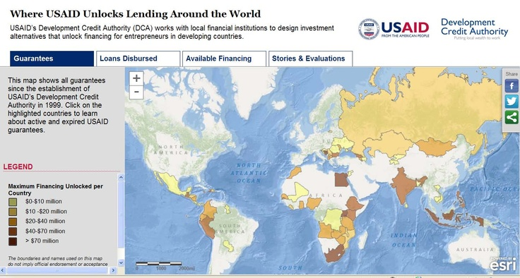 USAID Development Data Available on ArcGIS Online