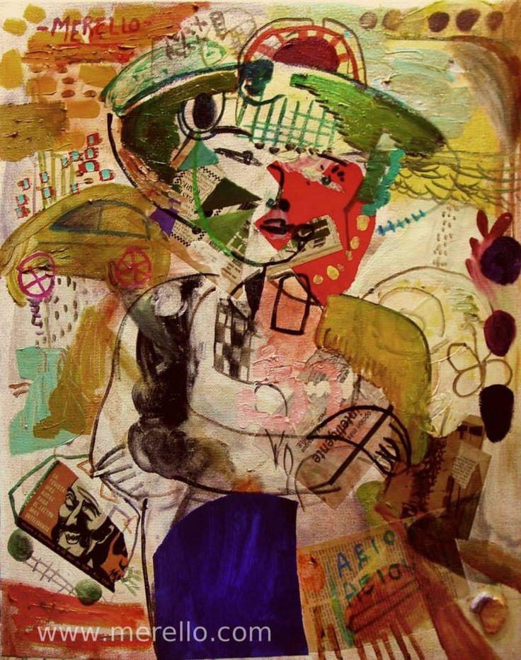 """KUNST.  Jose Manuel Merello.- """"El niño del trigo."""" (92x73 cm)  HEDENDAAGSE KUNST. Moderne schilderkunst. Hedendaagse Spaanse schilders. Artiesten XXI-21 de eeuw. Amsterdam, Madrid, Parijs, kunst, luxe en decoratie. ACTUELE KUNST. Moderne Kunst. Investering. http://www.merello.com"""