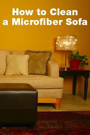 How to Clean a Microfiber Sofa   Overstock.com