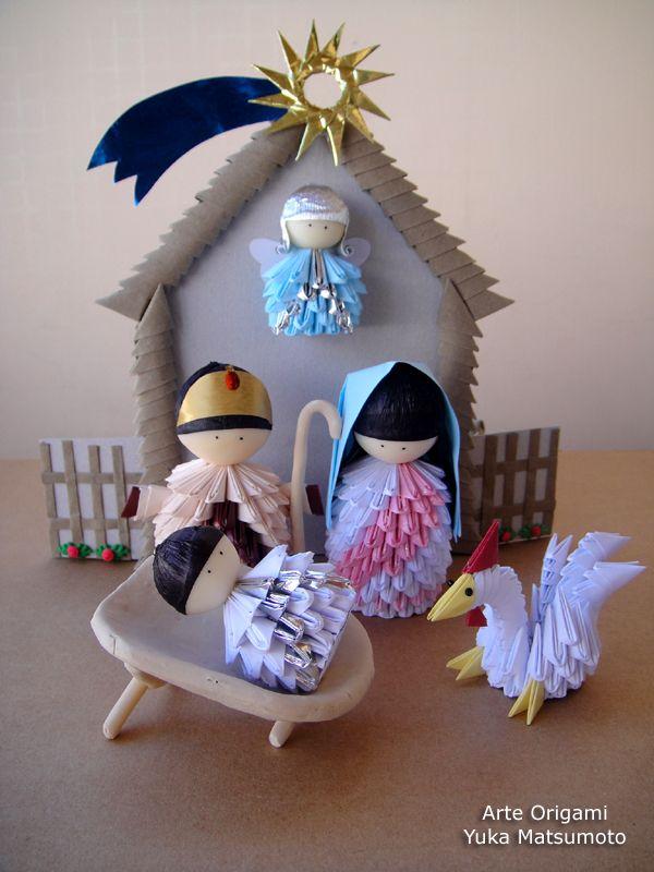 Presépio Origami - Yuka Matsumoto