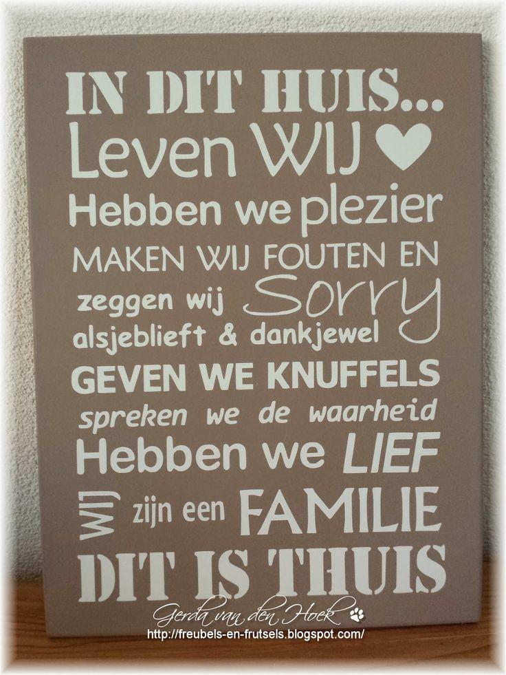 Gerda's Freubels en Frutsels: In de ban tekstborden...