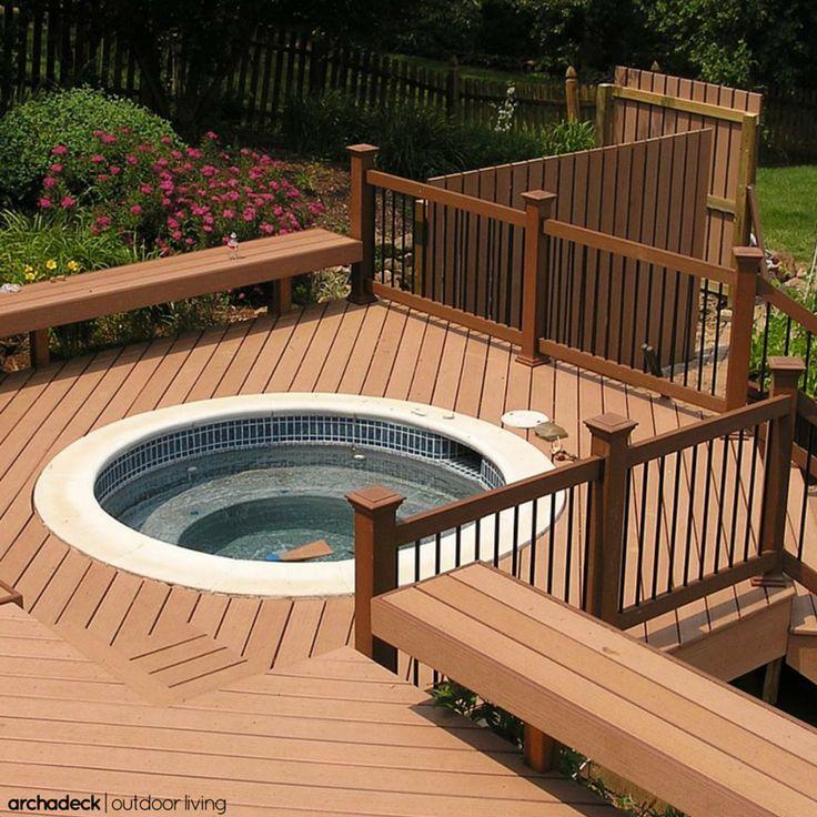 Anti Slip Decking Composite : Low maintenance non slip composite decking is a perfect