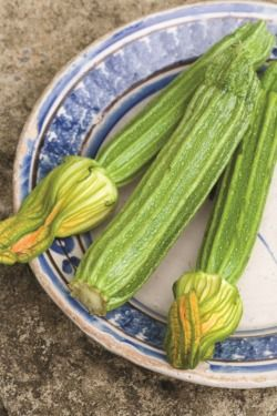 Crisp courgette wedges recipe