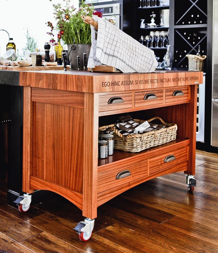 Best 25+ Butcher Block Cart Ideas On Pinterest