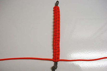 Make a survival bracelet: In an emergency, you can use paracord for lashings, tourniquets, shoelaces, snares, tying splints, or, if you tease out the threads, even fishing lines and sewing threads. This bracelet lets you carry a useful amount at all times.