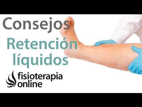 Retención de liquidos o piernas hinchadas. 10 consejos su prevención y tratamiento - YouTube