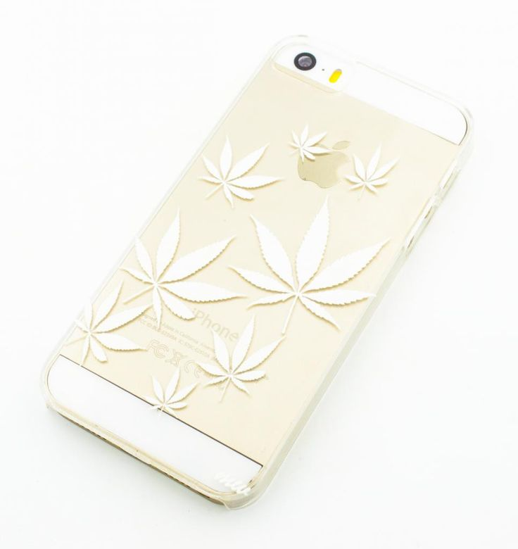"""Clear Plastic Case Cover for iPhone 6Plus (5.5"""") Plant Life weed og kush 420 marijuana sour diesel"""