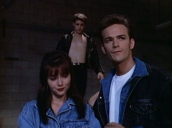 Christ almighty, this is happening. *NEW POST UP at Let's Make Fun Of All The Clothes From Famous Original Beverly Hills, 90210  Season 2; Episode 15: U4EA - This Post Is FOR You And FOR Me. DO YOU GET IT??? Also: My Dad Told Me I'm Clever And I Believe Him.  #beverlyhills90210 #beverlyhills #90210 #90s #U4EA #brandonwalsh #emilyvalentine #brendawalsh #dylanmckay #gayformckay #jackietaylor #andreazuckerman #letsmakefunofalltheclothesfromfamousoriginalbeverlyhills90210 #modcam1923