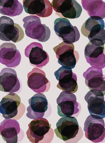 Purple Petals Art Print by Georgiana Paraschiv | Society6