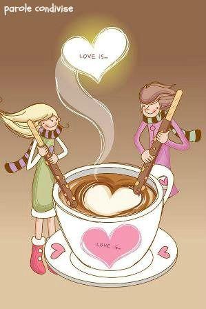 Caffè macchiato: gli opposti si attraggono.